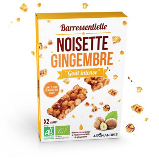 Barre noisette gingembre