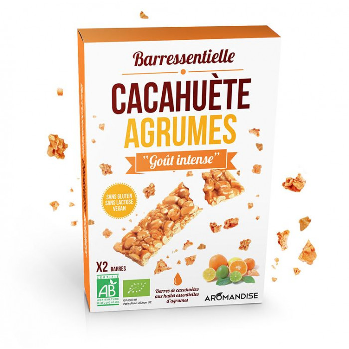 Barressentielle cacahuete agrumes - Aromandise - Packaging