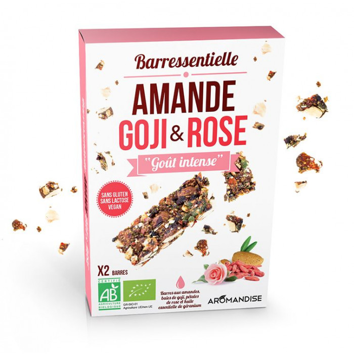 Barressentielle Amande, Goji et Rose - Aromandise - packaging