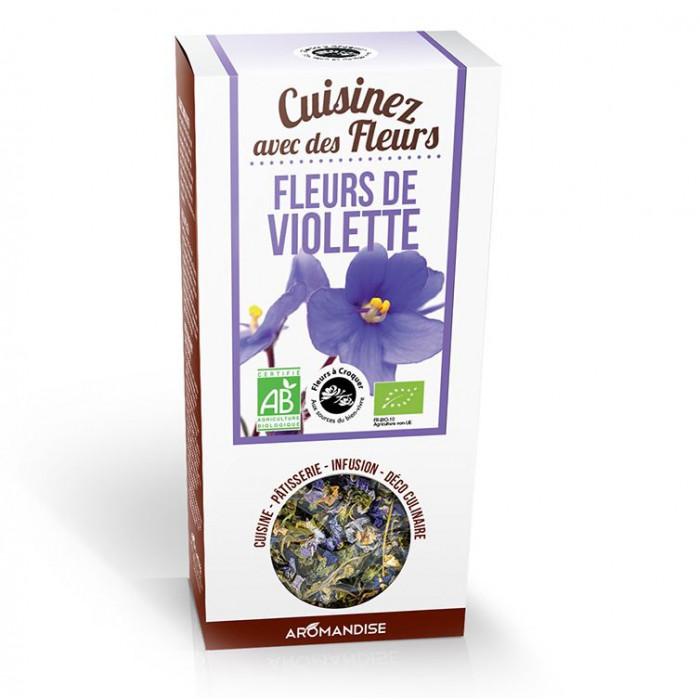 Fleurs de violette - Aromandise - packaging av