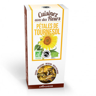 Pétales de tournesol - Aromandise - packaging av