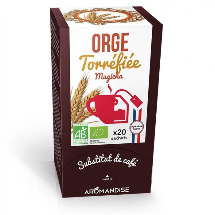 Orge torréfiée - mugicha - substitut de café - Aromandise - av