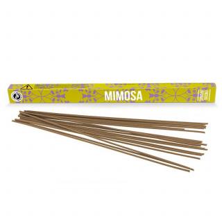 Encens Découverte Mimosa - Les Encens du Monde - Aromandise - packaging av