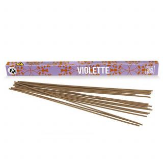 Encens Découverte Violette - Les Encens du Monde - Aromandise - packaging av