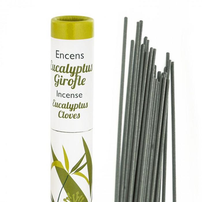 Herbosense Eucalyptus, Girofle - Les Encens du Monde - Aromandise - packaging