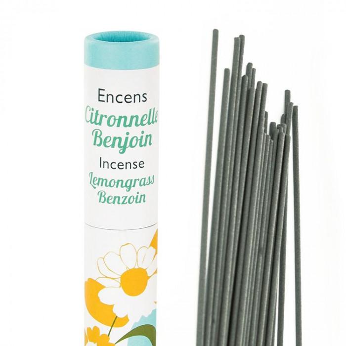 Herbosense Citronnelle, Benjoin - Les Encens du Monde - Aromandise - packaging