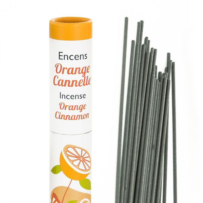 Herbosense Orange, Cannelle - Les Encens du Monde - Aromandise - packaging