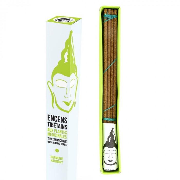 Encens Tibétain Dr Dolkar - Harmonisant - Les Encens du Monde - Aromandise - packaging av