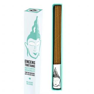 Encens Tibétain Dr Dolkar - Relaxant - Les Encens du Monde - Aromandise - packaging av