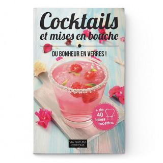 Livre recettes cocktails et mises en bouche - Aromandise - couverture