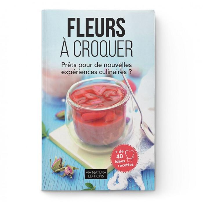 Livre Fleurs à Croquer - Aromandise - couverture