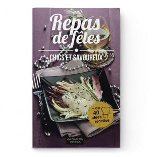 Livre recettes repas de fêtes - Aromandise - couverture
