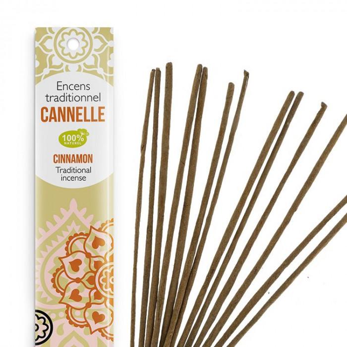 Encens Indien Haute Tradition - Cannelle - Les Encens du monde - Aromandise - av 2