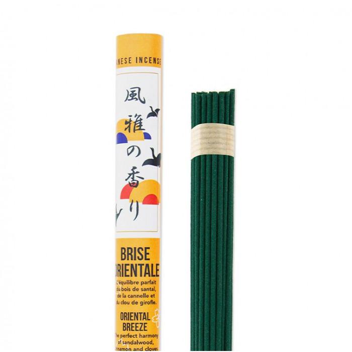 Rouleau japonais long Brise Orientale - Les Encens du Monde - Aromandise - produit 2