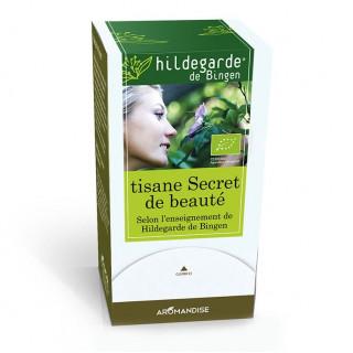 Tisane secret de beauté Hildegarde sachets - Hildegarde de Bingen - Aromandise - produit