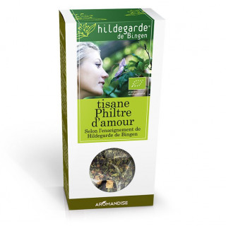 Tisane philtre d'amour Hildegarde vrac - Hildegarde de Bingen - Aromandise - produit