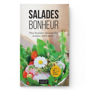 Livre recettes Salades Bonheur - Aromandise - couverture