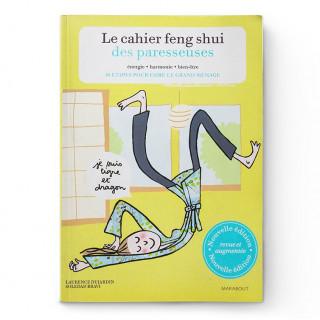 Livre Le cahier feng-shui des paresseuses