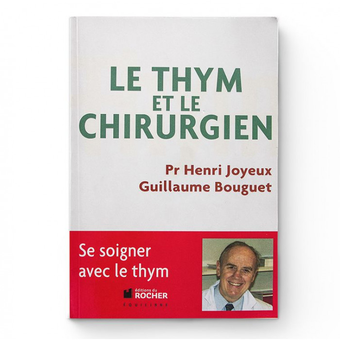 Livre le Thym et le Chirurgien - Aromandise - couverture