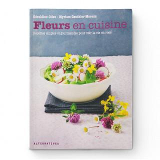 Livre Fleurs en Cuisine - Aromandise - couverture