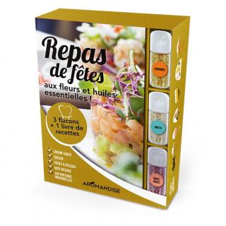 Coffret Repas de Fêtes - Cristaux d'Huiles Essentielles à cuisiner - Aromandise - produit