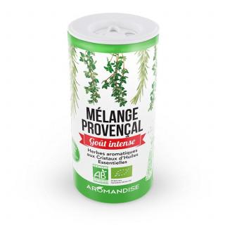 Mélange provençal - herbes aromatiques goût intense - aromandise - face