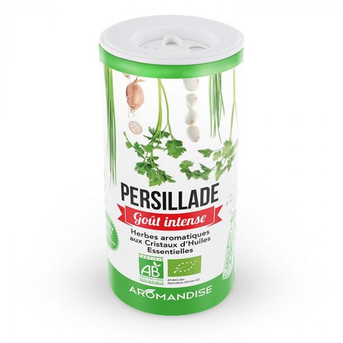 Persillade - herbes aromatiques goût intense - Aromandise - face