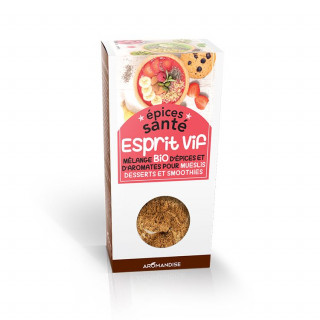 Epices Santé Esprit Vif - Epices Bio - Aromandise - face