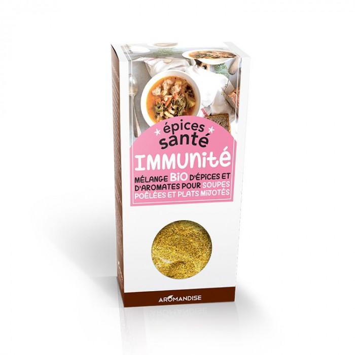 Epices Santé Immunité - Epices bio - Aromandise - face