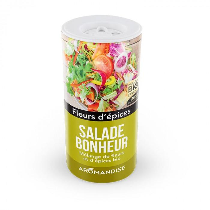 Fleurs d'Epices Salade bonheur - Fleurs d'épices - Aromandise - face