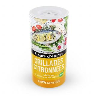 Grillades Citronnées - Fleurs d'Epices - Aromandise - face