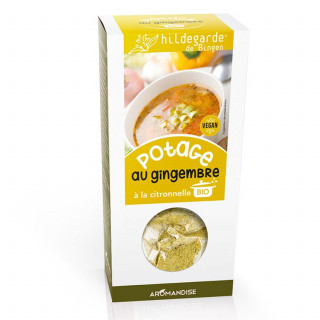 Potage gingembre citronnelle - Hildegarde de Bingen - Aromandise - produit