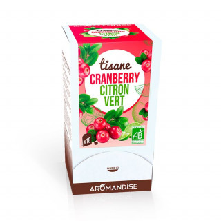 Tisane Cranberry Citron Vert - tisanes gourmandes - packaging