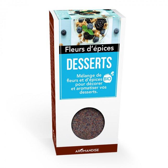 Desserts - Fleurs d'épices - Aromandise - produit