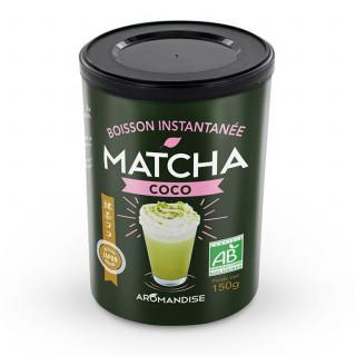 Matcha Coco - thés bio japonais - Aromandise - face