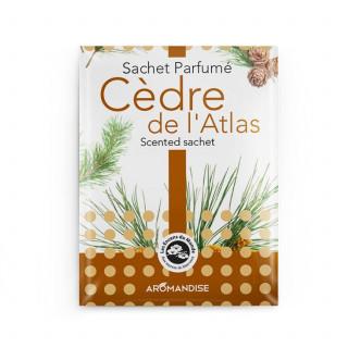Sachet parfumé - Cèdre de l'atlas - Aromandise - packaging