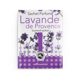 Sachet parfumé - Lavande de Provence - Aromandise - packaging