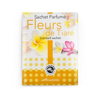 Sachet parfumé - Fleur de tiaré - Aromandise - packaging