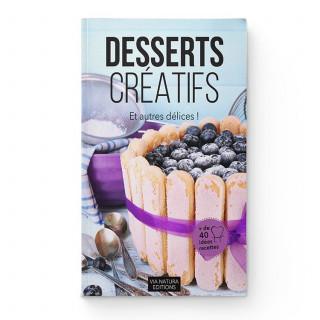Livre desserts créatifs - Aromandise - couverture