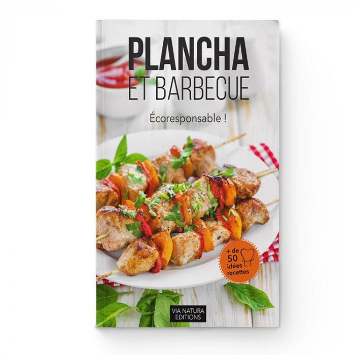 Livre Recettes Plancha et Barbecue Bio et Ecolo - Aromandise - couverture