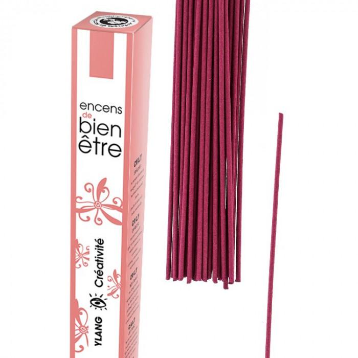 Encens Aromambiance - Ylang - Les Encens du Monde - Aromandise - packaging av