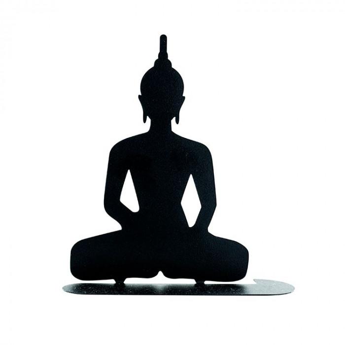 Porte-spirales d'encens Bouddha - face - les encens du Monde - Aromandise