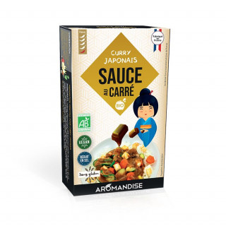 Sauce au Carré Curry Japonais - face - Aromandise