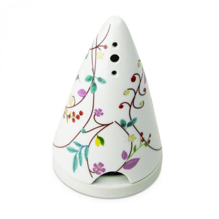 Diffuseur Lutin fleurs pour poudres de bois - Fleurs - les Encens du Monde - Aromandise - face