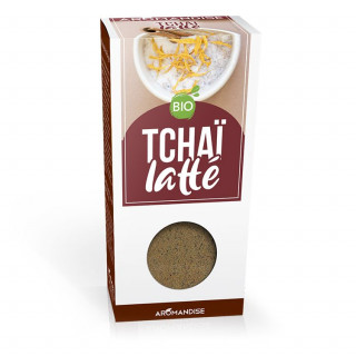 Préparation Tchaï - Aromandise - packaging - face