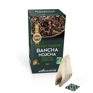 Bancha en infusettes - thé bio japonais - Aromandise