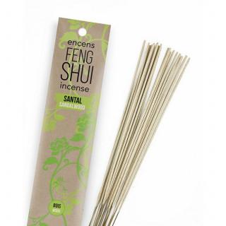 Encens Feng Shui élément bois - Santal - Les Encens du Monde - Aromandise - packaging av