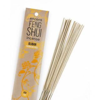 Encens Feng Shui élément feu - Oliban - Les Encens du Monde - Aromandise - packaging av