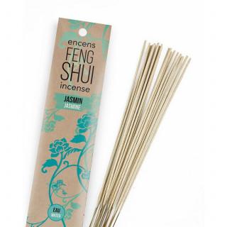 Encens Feng Shui élement eau - Jasmin - Les Encens du Monde - Aromandise - packaging av