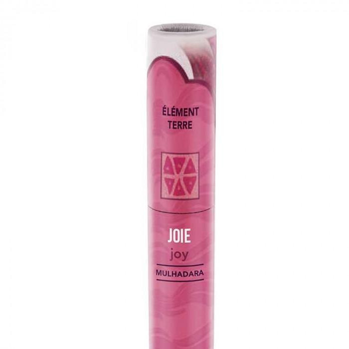 Joie - encens ayurvédique - les encens du monde - Aromandise - packaging